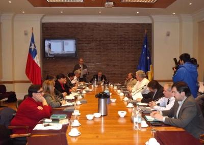 Por 10 votos de 13 asistentes, el consejero PS Ramón Lobos fue elegido Presidente del Consejo Regional