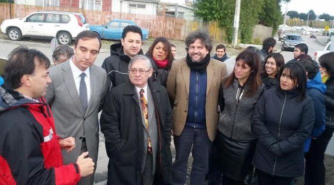 Se iniciaron en Punta Arenas obras de intervención en el Río de las Minas financiadas con el Plan de Zonas Extremas