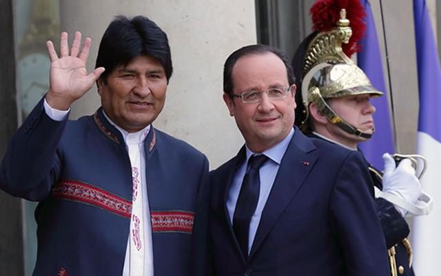 Evo Morales critica ejercicios militares periódicos de Chile, mientras compra armamento en Francia