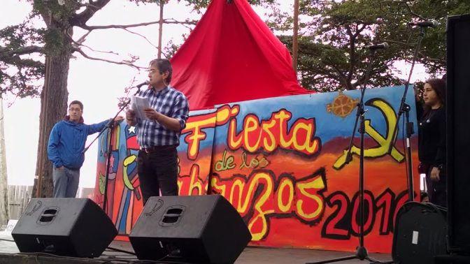 Discurso de Dalivor Eterovic candidato a Alcalde del Partido Comunista en la Fiesta de los Abrazos, Punta Arenas 2016
