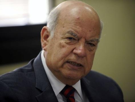 Jose Miguel Insulza asiste a la comisión de RREE del Senado