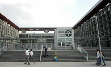 Fachada Centro de Justicia