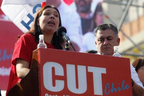 Marcha del Dia de los trabajadores..