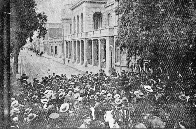 La huelga de los obreros portuarios de valparaíso – luis emilio recabarren, 1903