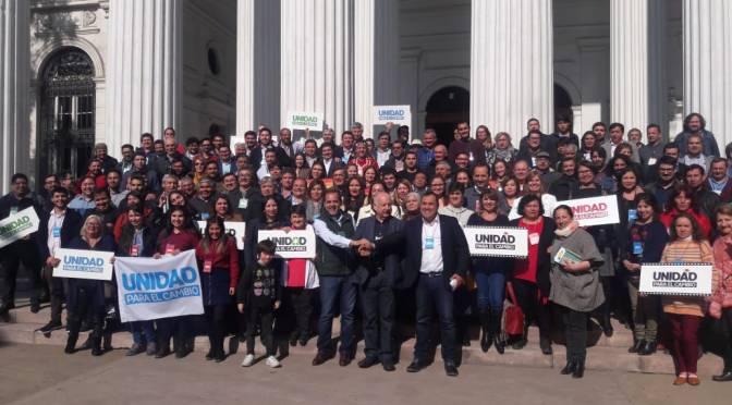 Unidad para el cambio – declaración política entre el partido progresista, la federación regionalista verde y social y el partido comunista