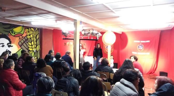 Se conmemoró en Punta Arenas el 107° aniversario de la fundación del Partido Comunista